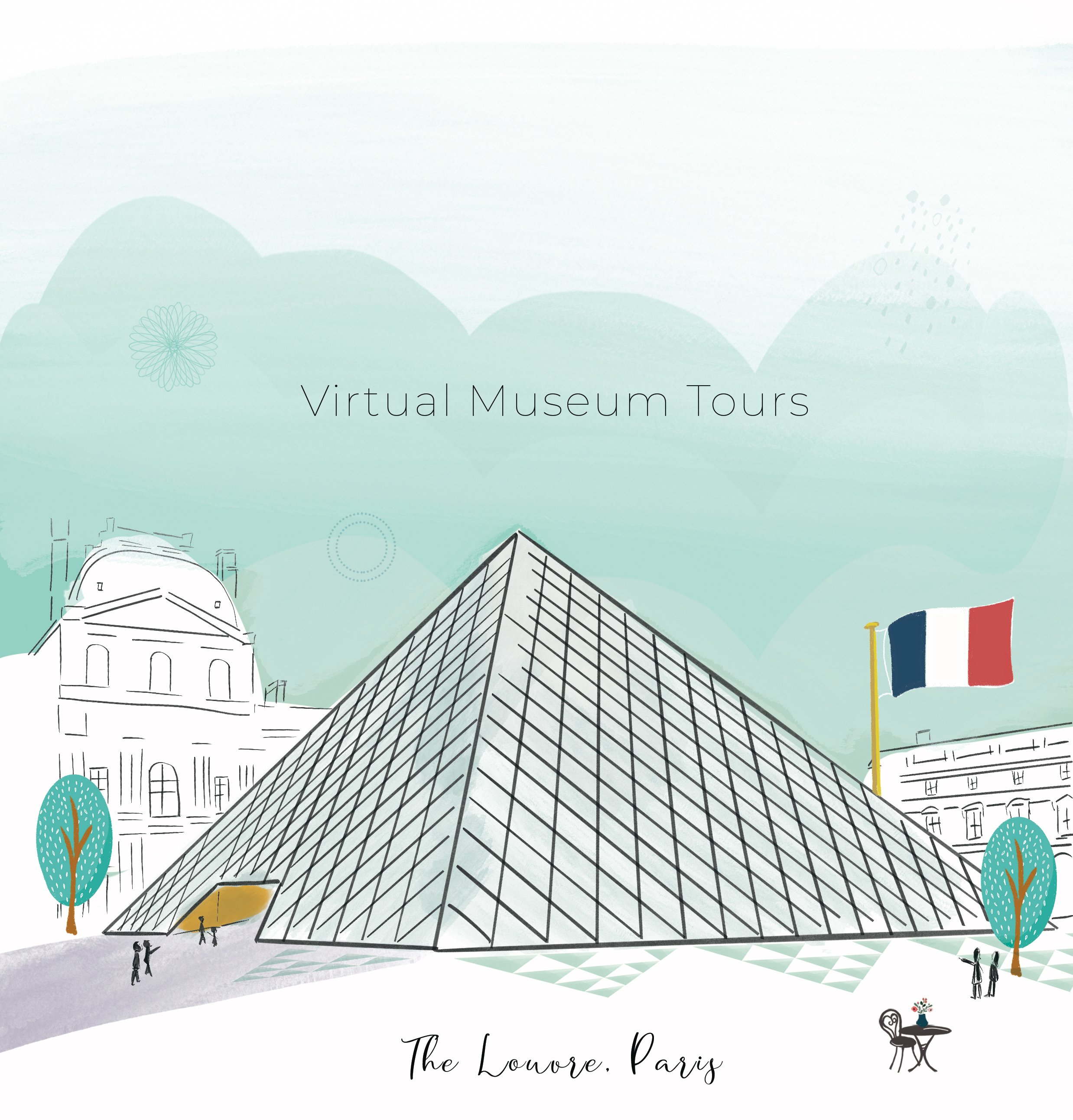 Museum Louvre by Emma Bryan